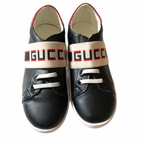 GUCCI Ace Stripe Sneaker Toddler Shoes Size 9